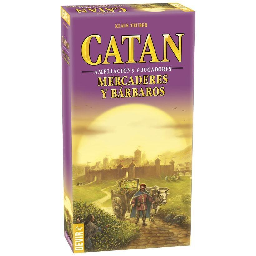 Devir - Catan: Mercaderes y Barbaros ampliación a 5-6 jugadores