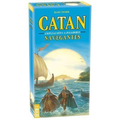 Devir - Catan: Navegantes de Catan  5-6 jugadores EXP.
