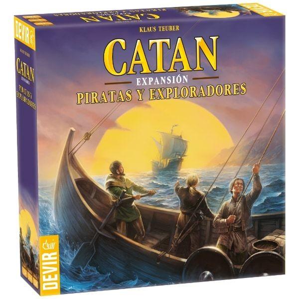 Devir - Catan: Piratas y Exploradores
