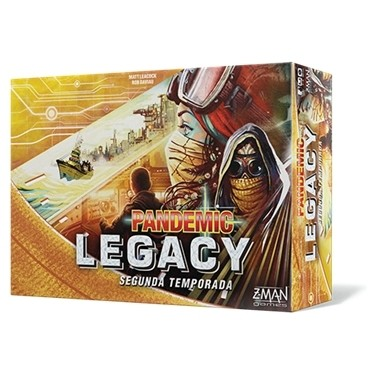 Z-Man Games - Pandemic Legacy 2 Amarillo