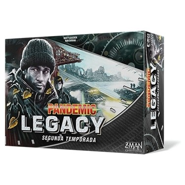 Z-Man Games - Pandemic Legacy 2 Negro