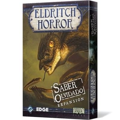 Fantasy Flight - Eldritch Horror: Saber olvidado