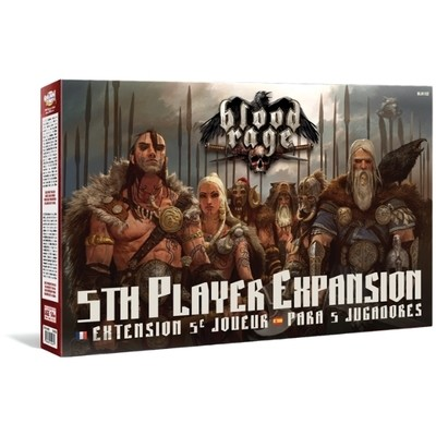 CMON - Blood Rage: Expansion para 5 jugadores