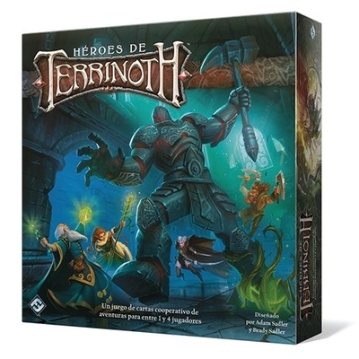 Fantasy Flight - Héroes de Terrinoth
