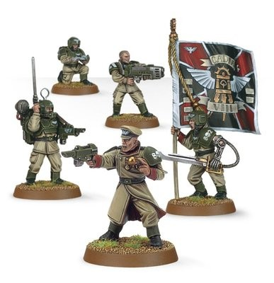 Games Workshop - Warhammer 40,000: Cadian Command Squad