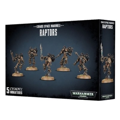 Games Workshop - Warhammer 40,000: Chaos Space Marine Raptors
