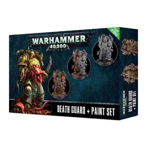 Games Workshop - Warhammer 40,000: Death Guard Paint set