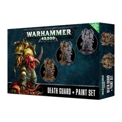Games Workshop - Warhammer 40,000: Death Guard Paint set