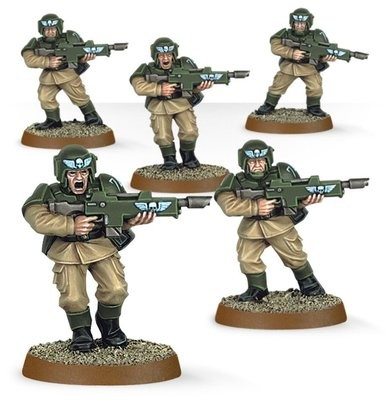 Games Workshop - Warhammer 40,000: Easy to build Astra Militarum Cadians