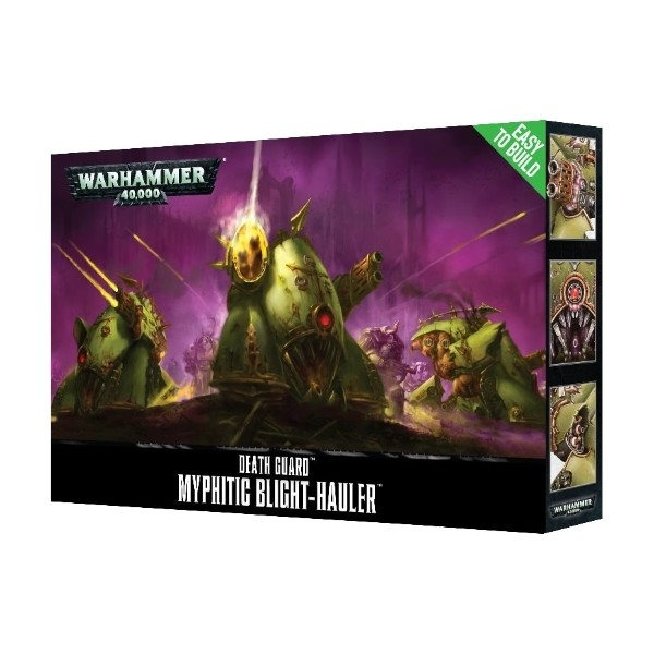 Games Workshop - Warhammer 40,000: Easy to build Guard Myphitic Blight-Hauler