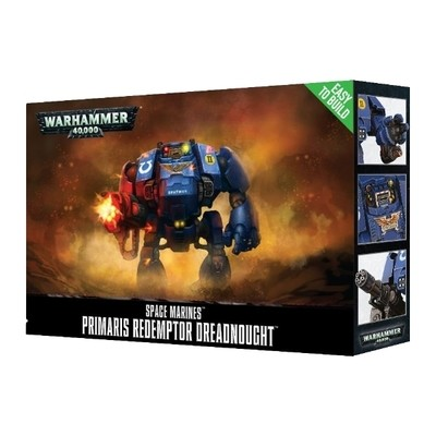 Games Workshop - Warhammer 40,000: Easy to build Primaris Redemptor Dreadnought