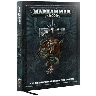 Games Workshop - Warhammer 40,000: Libro de reglas