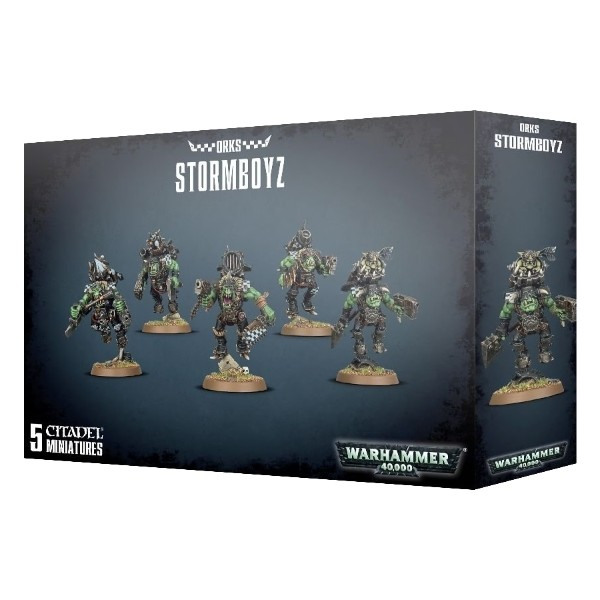 Games Workshop - Warhammer 40,000: Ork Stormboyz