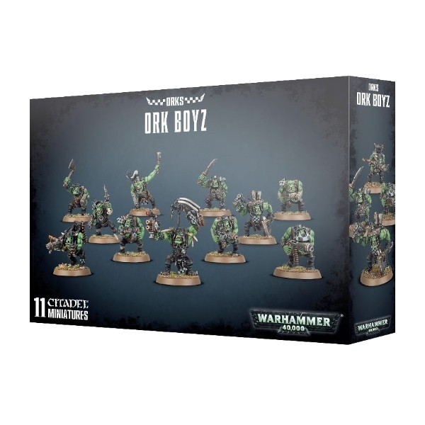 Games Workshop - Warhammer 40,000: Ork Boyz