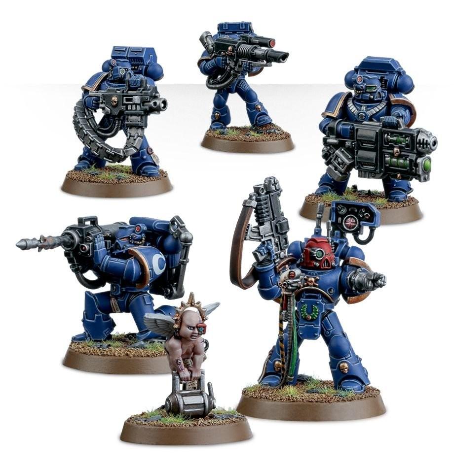 Games Workshop - Warhammer 40,000: Space Marine Devastator Squad