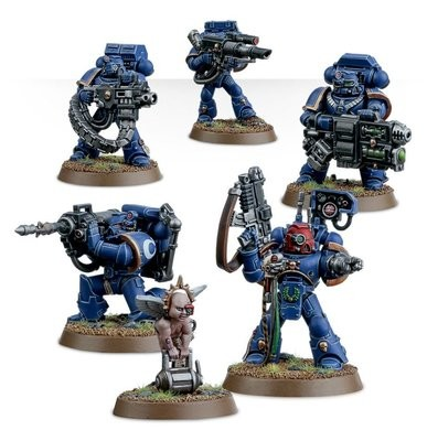 Games Workshop - Warhammer 40,000: Space Marine Devastator Squad