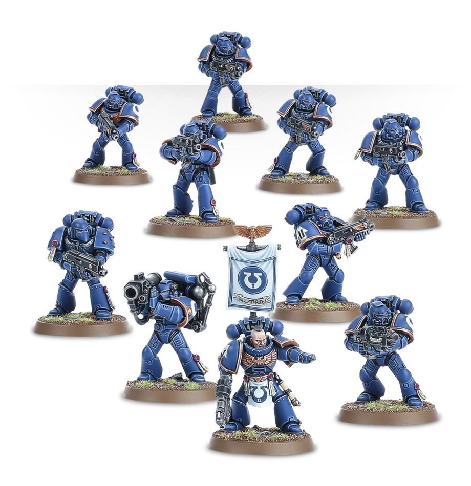 Games Workshop - Warhammer 40,000: Space Marine Tactical Squad
