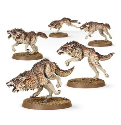 Games Workshop - Warhammer 40,000: Space Wolves Fenrisian Wolf Pack