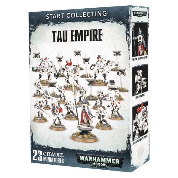 Games Workshop - Warhammer 40,000: Start Collecting Tau Empire