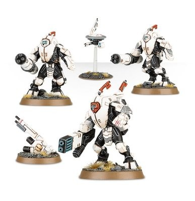 Games Workshop - Warhammer 40,000: Tau Empire XV25 Stealt Battlesuits