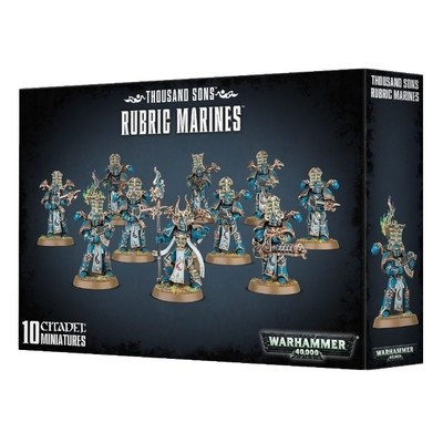 Games Workshop - Warhammer 40,000: Thousand Sons Rubric Marines