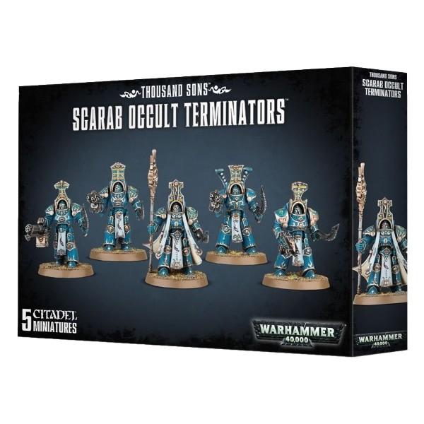 Games Workshop - Warhammer 40,000: Thousand Sons Scarab Ocult Terminators