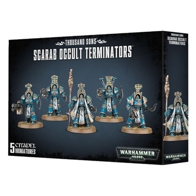 Games Workshop - Warhammer 40,000: Thousand Sons Scarab Ocult Terminators