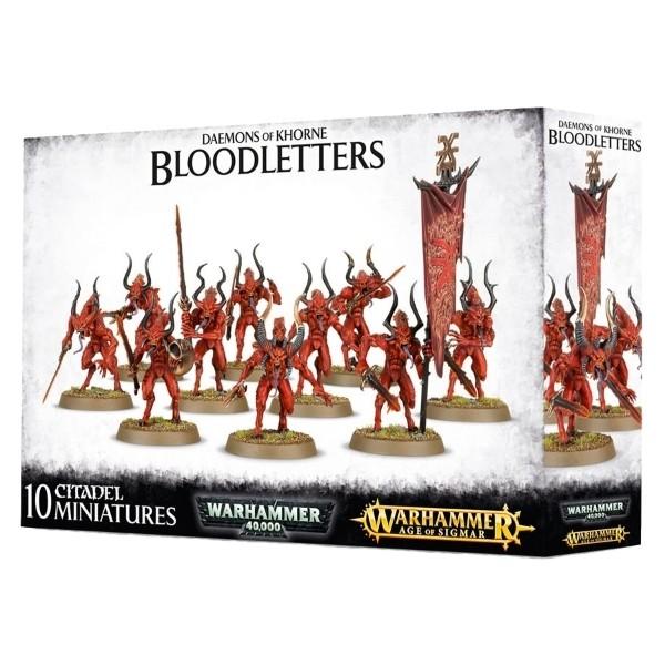 Games Workshop - Warhammer Age of Sigmar: Daemons of Khorne Bloodletters
