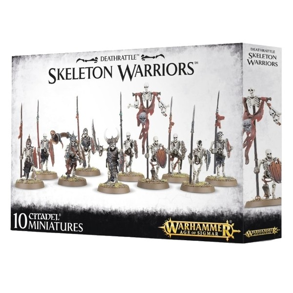 Games Workshop - Warhammer Age of Sigmar: Deathrattle Skeleton Warriors