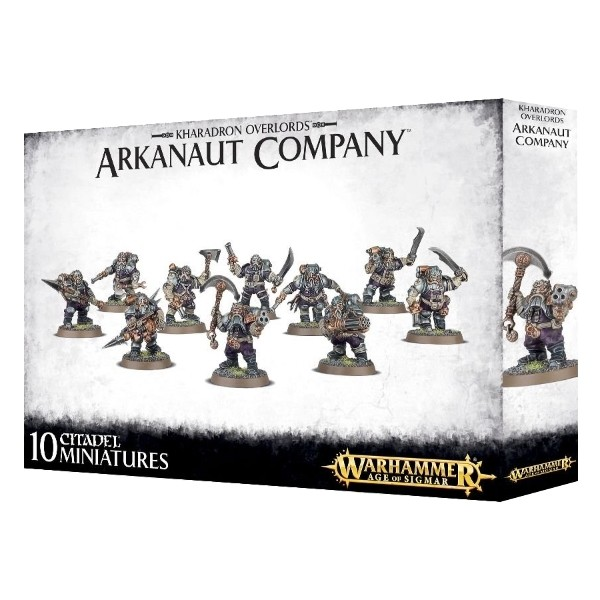 Games Workshop - Warhammer Age of Sigmar: Kharadron Overlords Arkanaut Company
