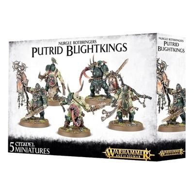 Games Workshop - Warhammer Age of Sigmar: Nurgle Rotbringers Putrid Blighkings