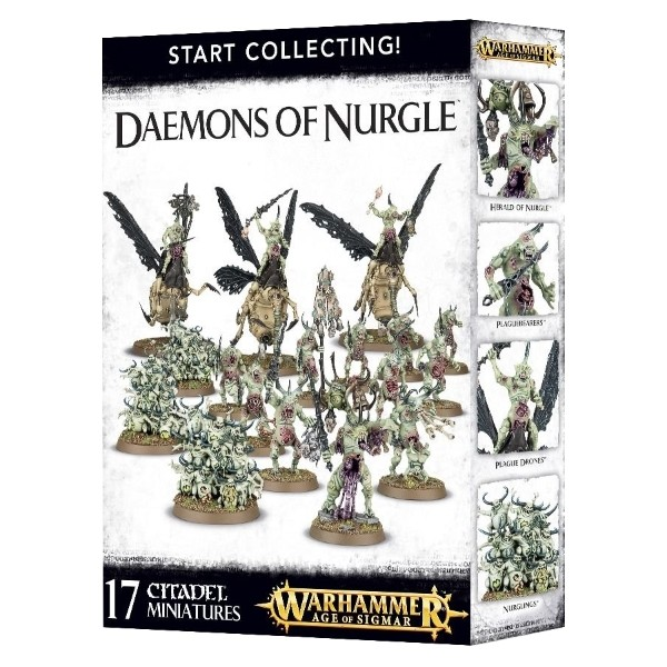 Games Workshop - Warhammer Age of Sigmar: Start Collecting Daemons of Nurgle