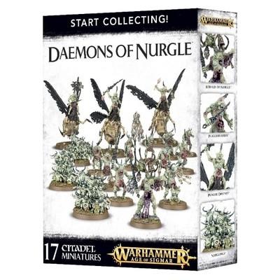 Games Workshop - Warhammer Age of Sigmar: Start Collecting Daemons of Nurgle