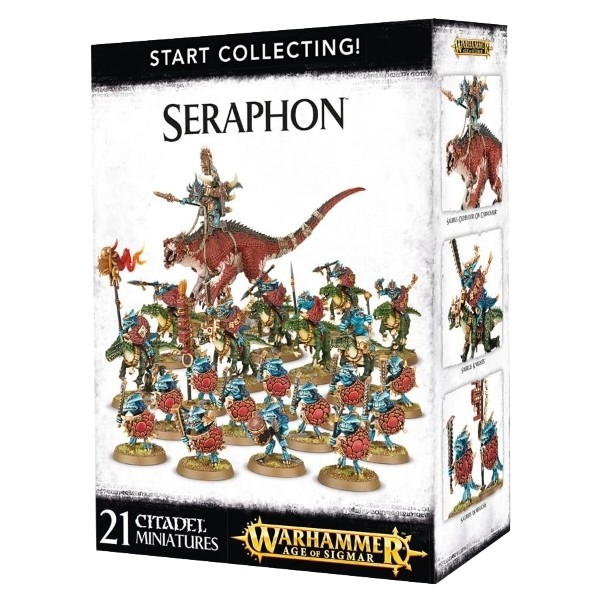 Games Workshop - Warhammer Age of Sigmar: Start Collecting Seraphon