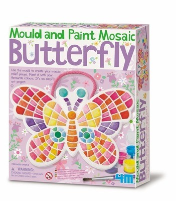 4M - Mould & Paint Mosaic Butterfly