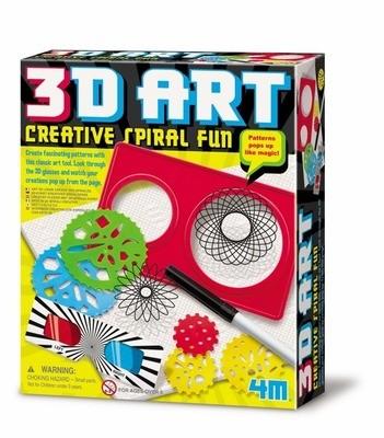 4M - 3D Art Creative Spiral Fun