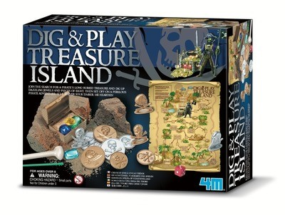 4M - Dig & Play Treasure Island