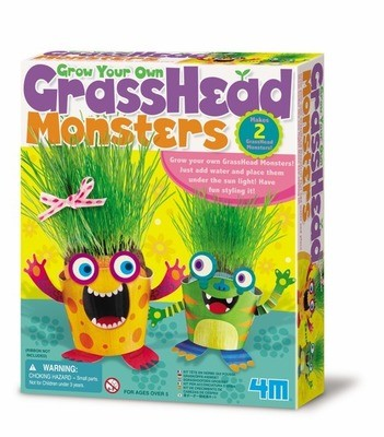 4M - Grow Your Own Grass Head Monsters
