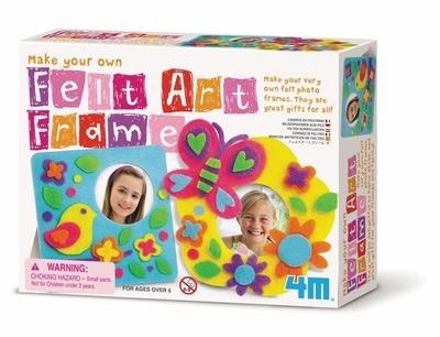 4M - Make Your Own Felt Art Frame