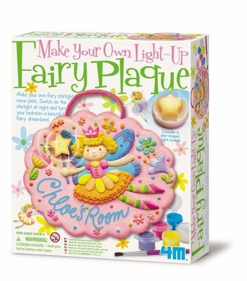 4M - Make Your Own Light-Up Fairy Plaque