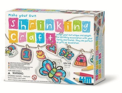 4M - Make Your Own Shrinking Craft