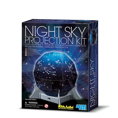 4M - Kidz Labs - Night Sky Projection Kit