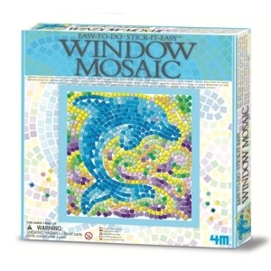 4M - Easy-To-Do Window Mosaic Art / Delfín