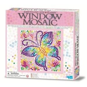 4M - Easy-To-Do Window Mosaic Art / Mariposa