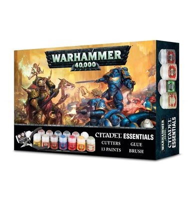 Games Workshop - Warhammer 40,000 Citadel Essentials Paint Set
