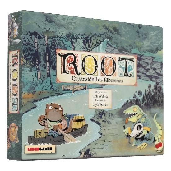 Leder Games - Root: Expansión los Ribereños