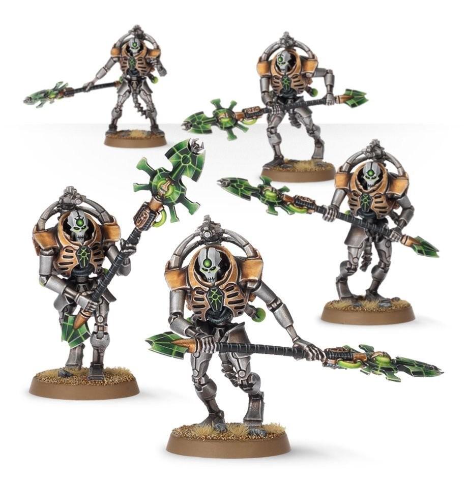 Games Workshop - Warhammer 40,000: Necron Triarch Praetorians