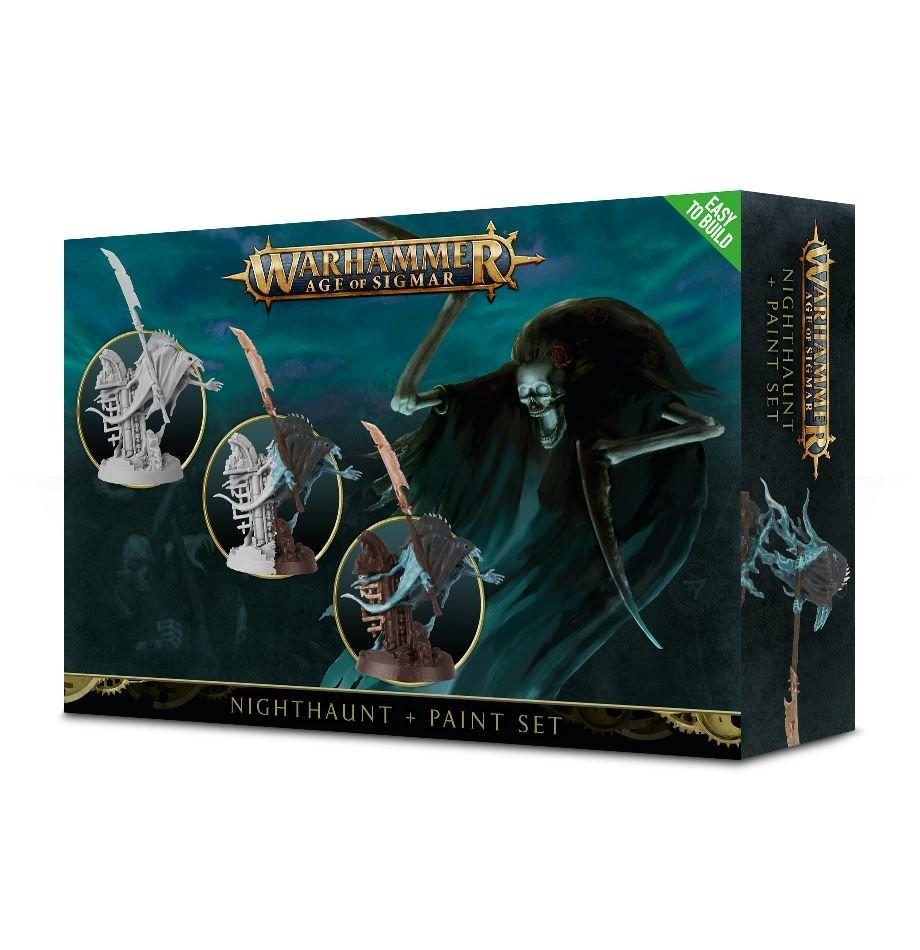 Games Workshop - Warhammer Age of Sigmar: Nighthaunt + Paint Set