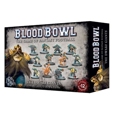 Games Workshop - Blood Bowl: Dwarf Giants