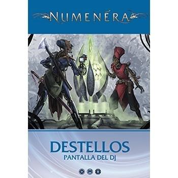 Holocubierta - Numenéra: Destellos, Pantalla del director de juego
